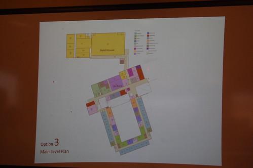 SchBldgComm: Option 3 - main level