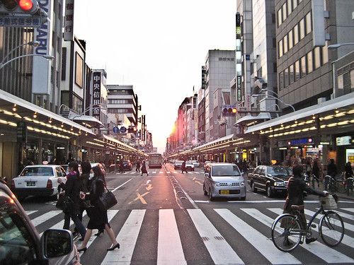 Sunset in Shijo