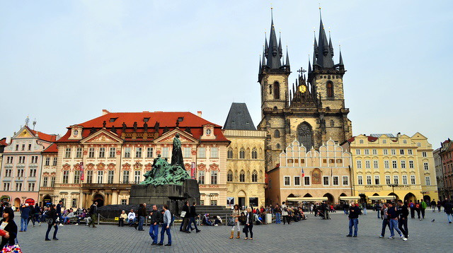 Old Town Square, Prague. Czech Republi