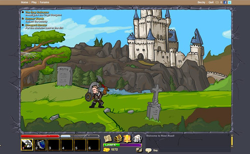 Dungeon Blitz screenshot