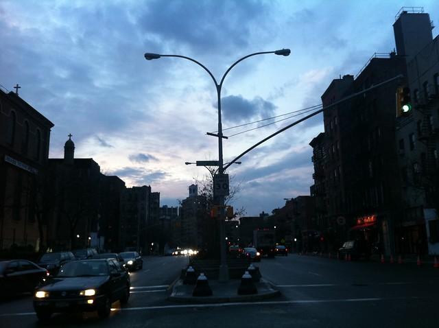 From an Evening Walk in the South Village