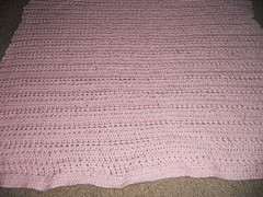 Crochet blanket, so pretty