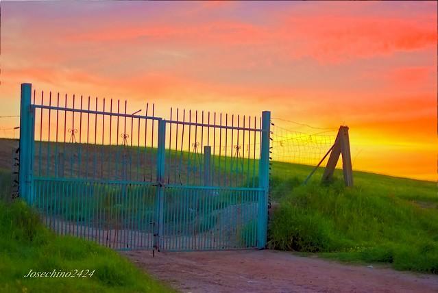 al otro lado de la valla