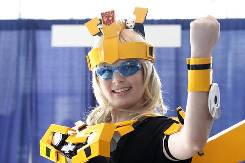 Wondercon: Transformers Bumblebee Cosplay Character