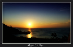 Arraial's Sunset (theboyfromipanema) Tags: ocean sunset sea brazil praia beach riodejaneiro sand sony playa atlantic saturation arraialdocabo sonyalpha sonya350