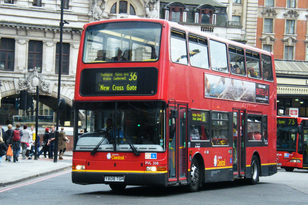 Go-Ahead London, PVL208, Y808TGH