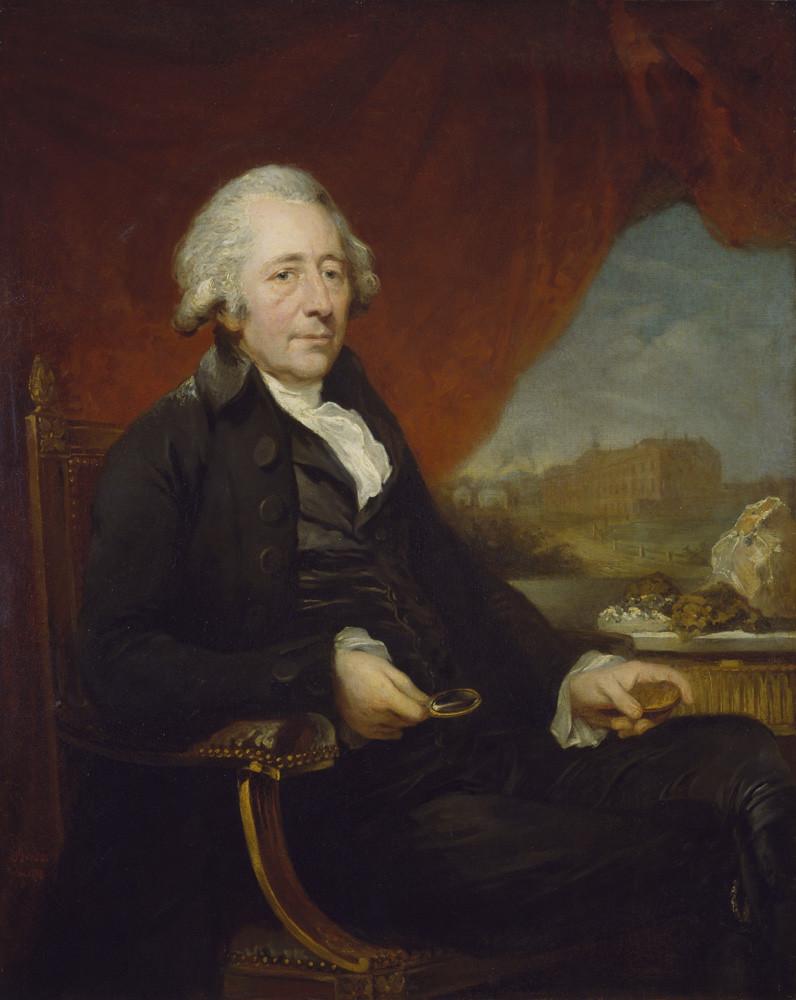 Portrait of Matthew Boulton - artist Charles Frederick von Breda