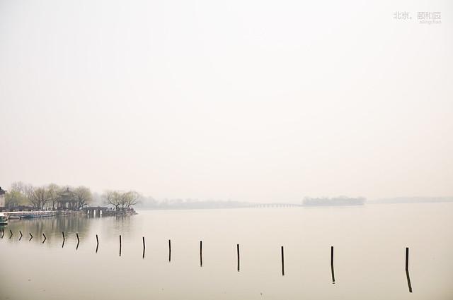 雾里看颐和园
