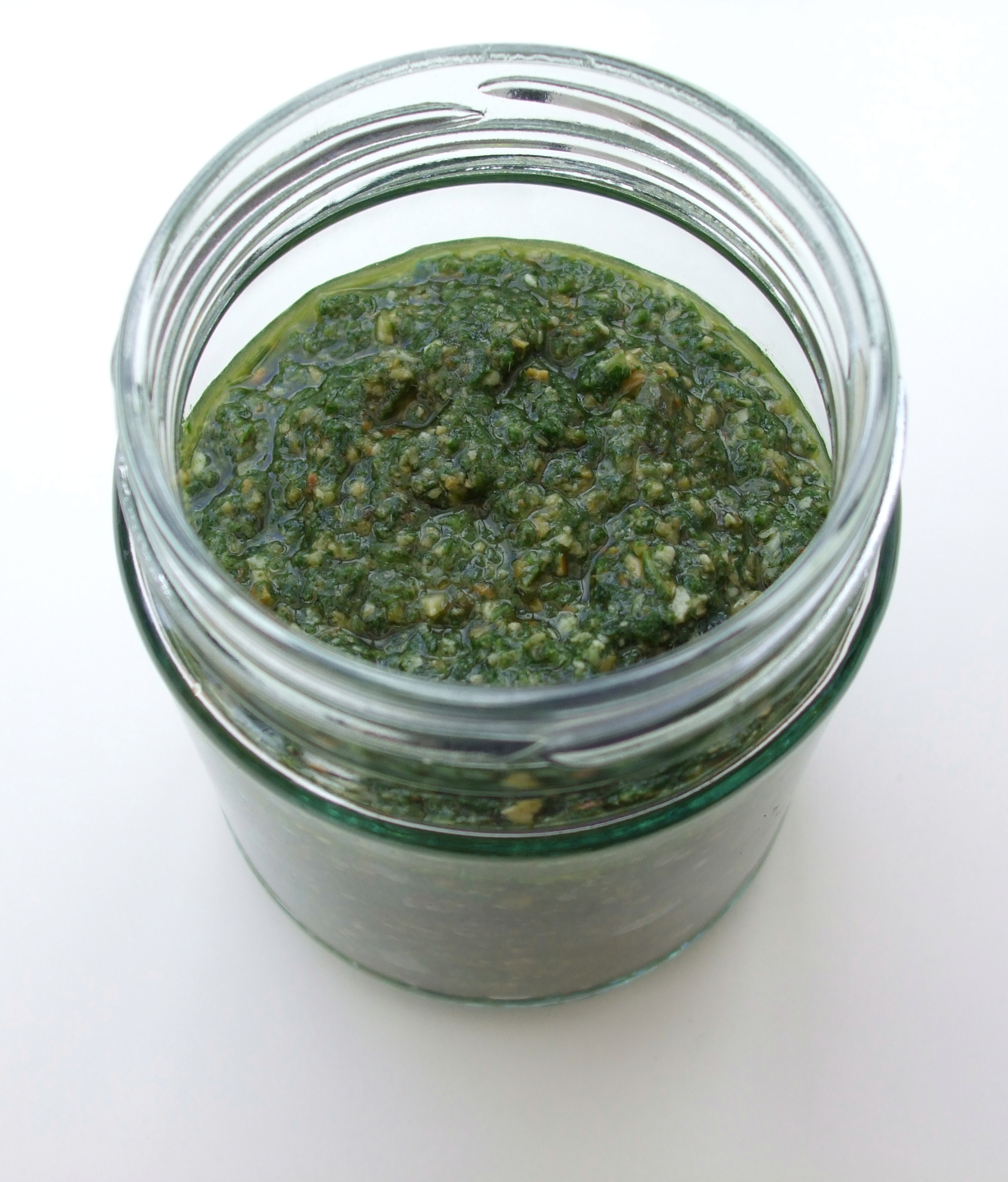 Nettle & Pumpkin Seed Pesto