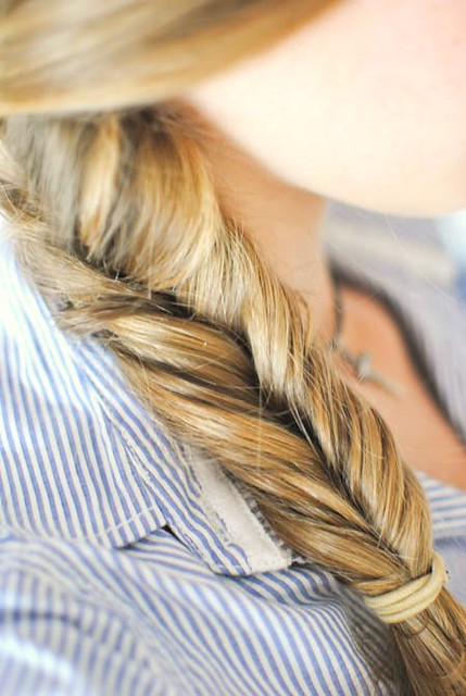 my fishtail braid {97/365}
