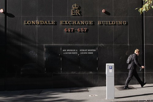Telstra's Lonsdale Exchange Building