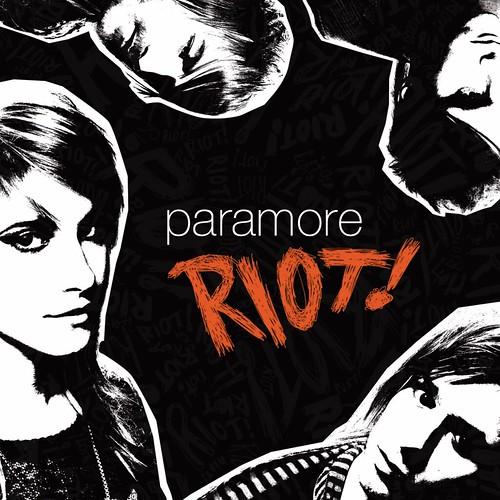 riot paramore cover. Paramore - Riot! - Album Cover