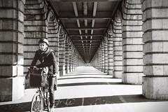 Pont de Bercy (Airicsson) Tags: street leica urban blackandwhite bw white black paris film vintage summicron 35 m6 streetshot