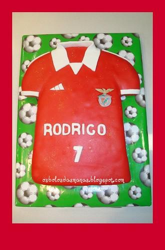 Bolo camisola Benfica by Osbolosdasmanas