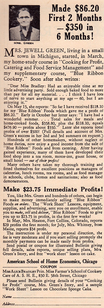 Cookery ad