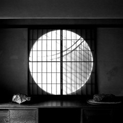 circular window (SOVA5) Tags: blackandwhite window square ricoh grd  grd2 grdigital2