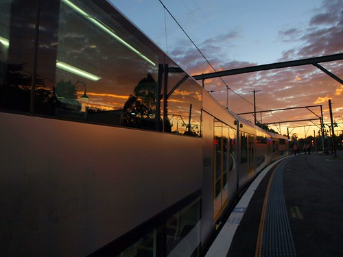 CityRail's new Waratah Train or A Set - A3