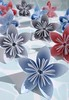 Paper Flowers Made From Security Envelopes