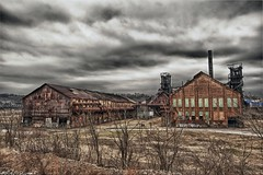 Carrie Furnace HDR (Dave DiCello) Tags: photoshop nikon day cloudy decay tripod homestead nikkor hdr highdynamicrange urbanphotography urbex blastfurnace cs4 swissvale steelmill carriefurnace tonemapped colorefex cs5 d700 hdrefex