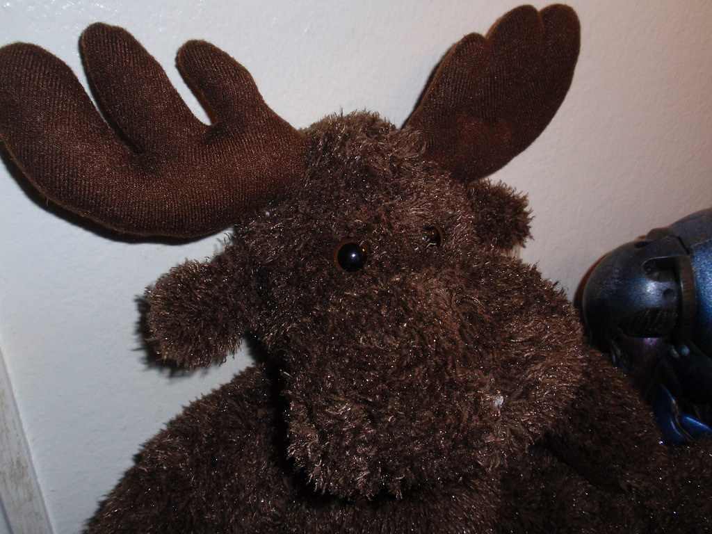 365 Toy Project, Three 099 365 - Moose 2