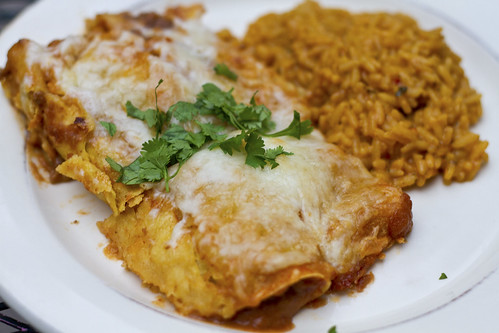 beef and brown sugar enchiladas