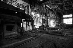 Kremikovtzi AD - inside one of production halls (Slobodan Miskovic) Tags: abandoned industry hall nikon iron factory tokina complex 1224 kremikovtzi d7000