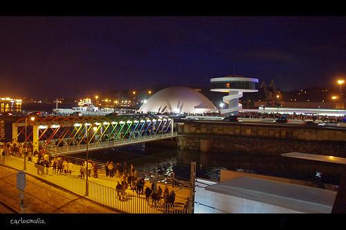 Inauguración del Centro Niemeyer
