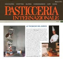 Mario Ragona su Pasticceria Internazionale Marzo 2011