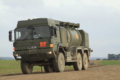 BRITISH ARMY MAN TRUCK (John Ambler) Tags: 2 training army exercise lj group ab battle lions british britisharmy plain 42 challenger tanks battlegroup lionsstrike strikesptasalisbutyplaintrainingareasalisbuty areamanfueltrucklj42ab