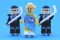 [223/365] Bodyguards (pasukaru76) Tags: ice lego iceskating icehockey bodyguards minifig365
