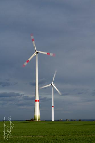 Windenergieanlagen in Kirchheiligen