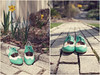 ModCloth Spring Shoes Duo (Tiffany Arment) Tags: newyork brick spring shoes duo mint retro spectator wingtip modcloth