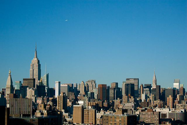 Manhattan Skyline 70mm