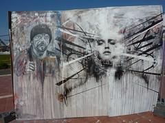 David Cain and Doc (erokism) Tags: streetart graffiti aerosol doc southport write4gold davidcain upnorthfest artbydoc