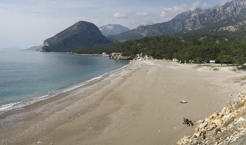 Topcam beach, Antalya, Turkey