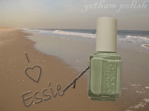 Essie Absolutely Shore at the Beach