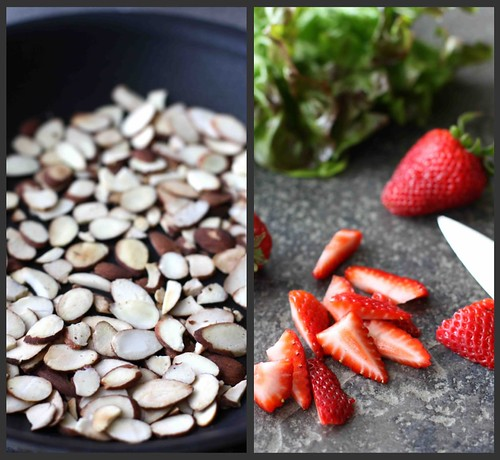 Strawberry GS Salad Collage
