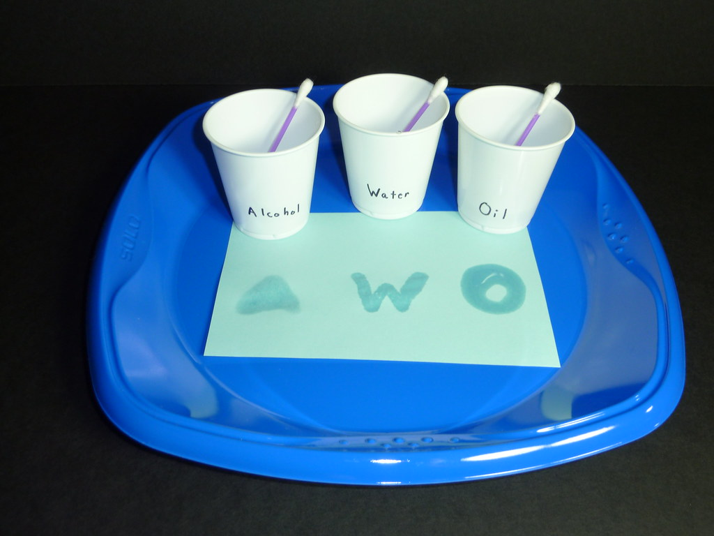 Evaporation Rates: Alcohol, Water, & Baby Oil