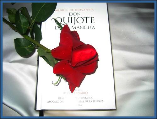 Sant Jordi (Rosa y Libro) by Miguel Allué Aguilar