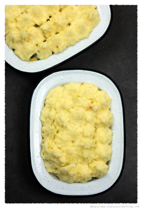 Smoked Haddock Pie with Horseradish Mash© by Haalo