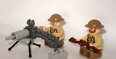 Vickers machine gun (Commandersniperfish) Tags: world africa two fish war gun lego lol north rifle machine alf son mortar prototype lee sniper troll british montgomery trans monty commander enfield rommel vickers freebies glaive kommandant commandersniperfish