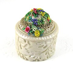 Easter Bonnet Trinket Box.
