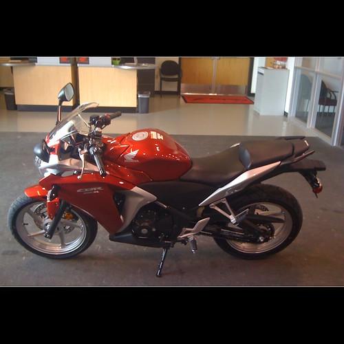 honda cbr250r black. 2011 Honda CBR250R.