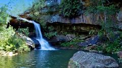 Upper Gledhill Falls 3 (James.Breeze) Tags: green water waterfall sydney australia kuringai