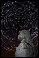 Stargazing (Explored) (RattyBoots) Tags: longexposure night canon 7d nightsky dartmoor starts shootingstars multipleexposures bowerman startrail canon1022 bowermansnose