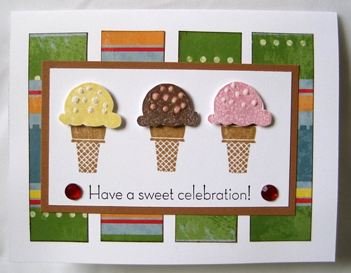 Sweet Scoops Card