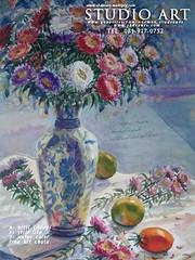 เขียนสีน้ำดอกไม้