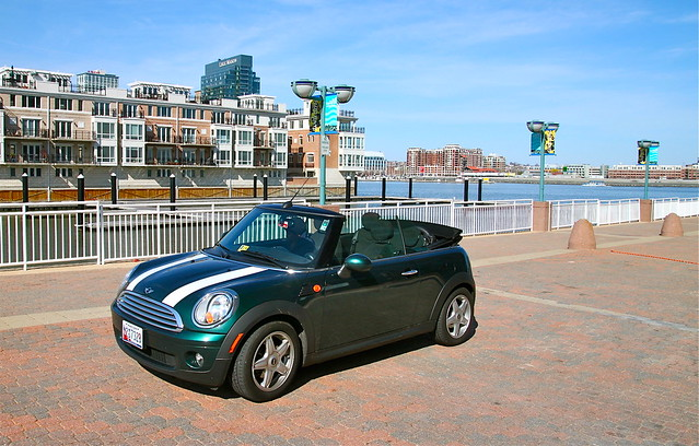 The Mini Cooper Rental Car