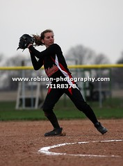 7I1R8378 (warren.robison) Tags: girls sports girl sport ball out photography action central first indiana christian highschool varsity softball bethesda pitcher triton basemen filder fairland ihsaa
