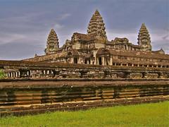 Beautiful Angkor. By Ian Layzell (IANLAYZELLUK) Tags: city monument religious temple asia cambodia religion angkorwat temples angkor october2007 religiousmonument ianlayzell